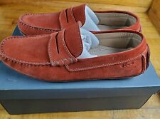 ECCO Mens Summer Moc Slip On Loafer Picante Red Size 44 EU / 10-10.5 US