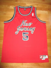 Nike Jason Kidd No. 5 New Jersey Nets (2Xl) Jersey Red