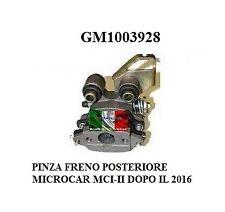 PINZA FRENO POSTERIORE SINISTRA MICROCAR MCI-II DOPO IL 2006 GM1003928