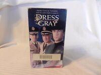 Dress Gray VHS 2 Tape Set 1993 Alec Baldwin Lloyd Bridges