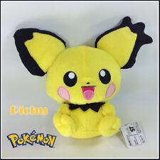 "Spiky-eared Pichu Pokemon Plush Soft Toy Electric Type Stuffed Animal Figure 8"""