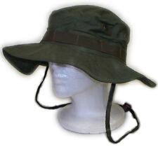 U.S Boonie Hat Cap w/ Chin Strap - OD Green