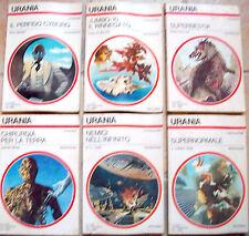 1979 6 ROMANZI URANIA GOULART KOONTZ GERROLD WHITE TUBB HUNTER HOLLY