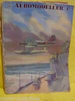 RARE AEROMODELLER AUGUST 1945 GREGOR FDB 1 PLAN MODEL AIRCRAFT C RUPERT MOORE