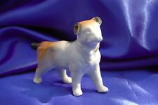 Antique Porcelain Jack Russell GErmany Wire Fox terrier Rascal dog w collar *