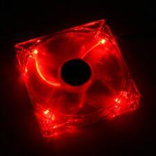 VENTOLA XIGMATEK CRYSTAL 80 RED LED CLF-F8252 - CFS-S8GJS-RU1