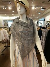 handknit mohair / wool blend lace scarf/stole/wrap
