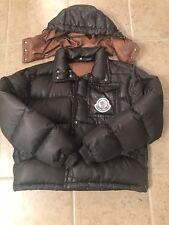 $1000 Mens Authentic Moncler Puffer Parka Jacket coat Size 1