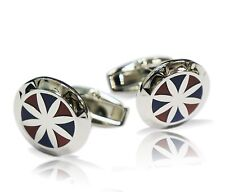Red and Blue Star Cufflink
