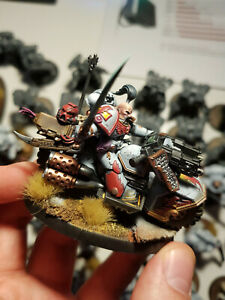 Studio painted competitive White Scars army