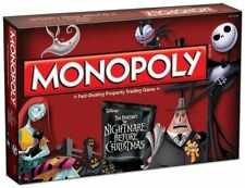 Board Game M0NOPOLY Nightmare Before Christmas NBC Jack Collector's Edition NEW