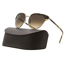 c4bd62a8c63 Oliver Peoples Josa Womens Sunglasses 523613 Cocobolo Brushed Gold   Umber  Brown