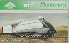 BT Phonecard, BTG410 Rail Pride - Silver Link, unused