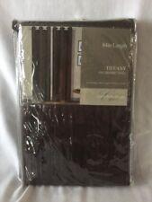 "CREST HOME DESIGN Window Tiffany One Grommet Panel 54""x84"" Brown"
