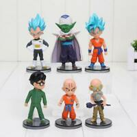 Dragon ball Z son Goku Vegeta set of 6pcs PVC figure figures doll toy anime