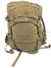 USMC FILBE Main Pack Ruck Coyote Brown W/ Frame Shoulder Straps Hip Belt