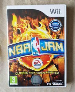 Nintendo Wii game - NBA JAM + manual