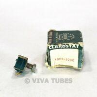 NOS NIB Vintage Clarostat 48M9 Potentio Potentiometer 100000 100K ohm