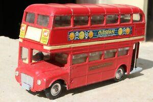 CORGI  468 LONDON ROUTEMASTER BUS good condition 1960s