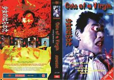 DUTCH VIDEO SLEEVE - GUTS OF A VIRGIN aka ENTRAILS OF A VIRGIN / PRE CERT