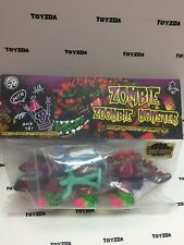 [Autographed] Piece of Art Toys Kenneth Black Seed Zombie Zoombie Monster
