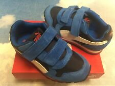 fae76f5b1afe Puma Kids St Runner NL V PS Hook   Loop Sneakers Kid Size 10.5 to Youth