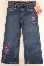 Sonoma 4T Denim Heart Stitch Jeans Toddler Girls Clothing