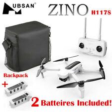 Hubsan Zino H117S WIFI FPV Quadcopter Drone 4K Camera GPS 3Gimbal RTF W/Backpack