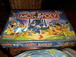 Monopoly Game Disney Edition 2001 Replacement Spares