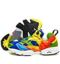 Reebok Insta Pump Fury Crooked Tongues Men's Shoes Size US 3 UK 2 EUR 33 M42001