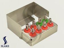 8 Pcs Dental Implant Tissue Punch Kit  set Surgical Surgery With Bur Holder