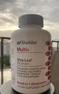 Shaklee Multi+ Vita-Lea Women 240 Tabs -base on 7 clinical studies, freeshipping