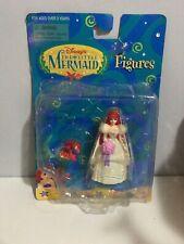 NEW DISNEY THE LITTLE MERMAID FIGURES MATTEL DOLL Ariel And Sebastian