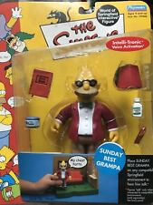 THE SIMPSONS World of Springfield WOS Sunday Best Grandpa SERIES 9 Action Figure