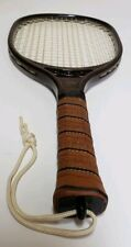 Dunlop Sure Shooter Racquetball Racket brown Made in Japan original leather grip