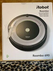 iRobot Roomba 690 Robot Vacuum W/ Wifi Connectivity Works W/ Alexa Self Charging