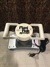 MAXI RUB The Body Relaxer 2 Speed Professional Quality Chiropractic Massager
