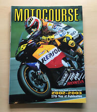 MOTOCOURSE 2002 -2003 (HARDBACK) by Hazelton Publishing (UK)