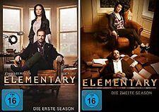 12 DVDs * ELEMENTARY - STAFFEL / SEASON 1 + 2 IM SET - MB  # NEU OVP +