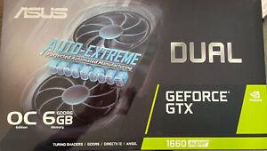 ASUS Dual GeForce GTX 1660 SUPER OC 6GB GDDR6 Graphics Card