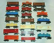 MARX BIG LOT OF O GAUGE TRAINS ENGINES AND CARS VINTAGE POSTWAR