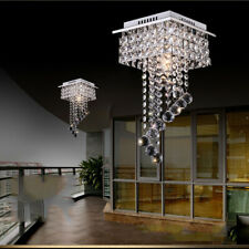 LED Crystal Ceiling Light Chandelier Lamp Kitchen Bed Living room Lights Modern