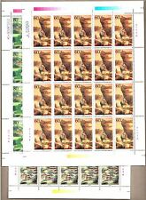 China 2001-8 Wudang Mountain Stamps 武當山 Full Sheet