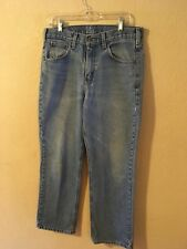Men's CARHARTT Jeans Relaxed Fit  32x30 Very Good, Pre-owned.
