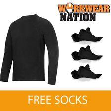 Abbigliamento da uomo neri Snickers
