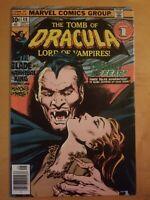 Tomb of Dracula #48 1976 Marvel comics Bronze Age Very Nice Copy