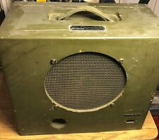 "Signal Corps US Army NATCO Full Range 10"" Alnico speaker for tube amps."