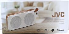 JVC SP-AD60-M Portable Bluetooth Wireless Speaker NFC One-Touch Pairing White