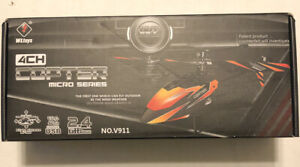 WLtoys Copter Micro series NO.V911 Without remote FOR PARTS. Read description.