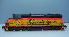 Atlas O SD35 Locomotive #6803-2 Chessie System C&O #7421 3 Rail TMCC/ RailSounds